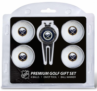 Buffalo Sabres 4 Ball and Divot Tool Set