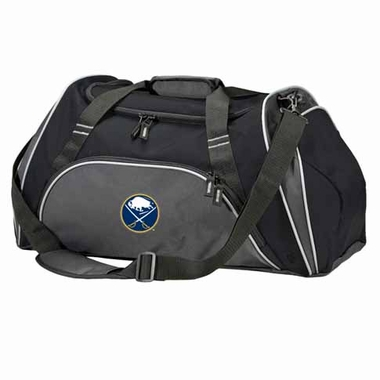 Buffalo Sabres Action Duffle (Color: Black)