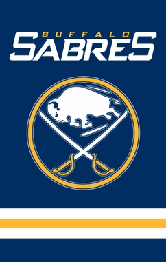 Buffalo Sabres Applique Banner Flag