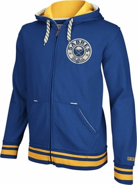 Buffalo Sabres CCM Classics Fleece Full Zip Sweatshirt