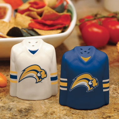 Buffalo Sabres Ceramic Jersey Salt and Pepper Shakers