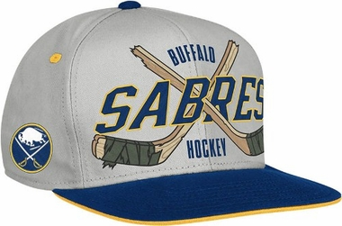 Buffalo Sabres Cross Sticks Snap back Hat