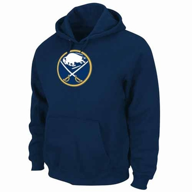 Buffalo Sabres Felt Tek Patch Navy Hooded Sweatshirt