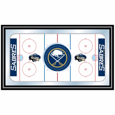 Buffalo Sabres Hockey Bar Mirror