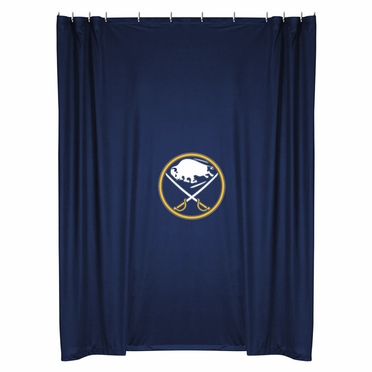 Buffalo Sabres Jersey Material Shower Curtain