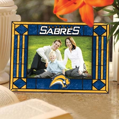 Buffalo Sabres Landscape Art Glass Picture Frame