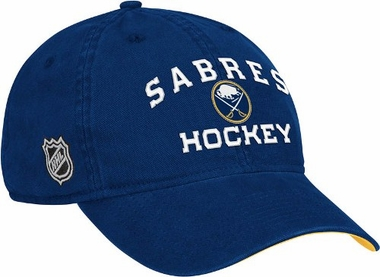 Buffalo Sabres Locker Room Team Slouch Adjustable Hat