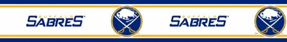 Buffalo Sabres Peel and Stick Wallpaper Border
