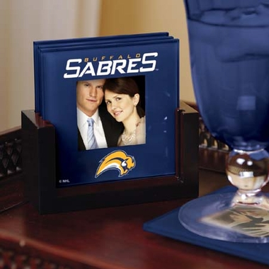 Buffalo Sabres Photo Coaster Set