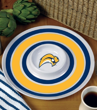 Buffalo Sabres Plastic Chip and Dip Plate