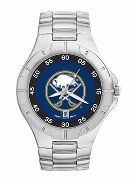Buffalo Sabres Pro II Men's Stainless Steel Watch