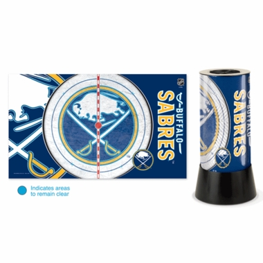 Buffalo Sabres Rotating Lamp