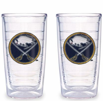 Buffalo Sabres Set of TWO 16 oz. Tervis Tumblers