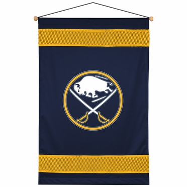 Buffalo Sabres SIDELINES Jersey Material Wallhanging