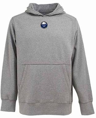 Buffalo Sabres Mens Signature Hooded Sweatshirt (Color: Gray)