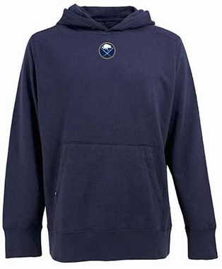 Buffalo Sabres Mens Signature Hooded Sweatshirt (Team Color: Navy)