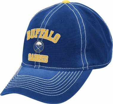 Buffalo Sabres Throwback Vintage Adjustable Slouch Hat