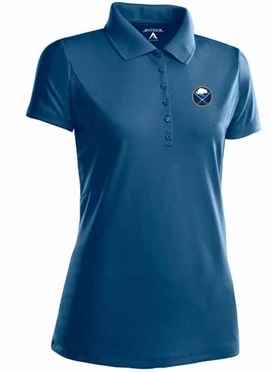 Buffalo Sabres Womens Pique Xtra Lite Polo Shirt (Team Color: Navy)