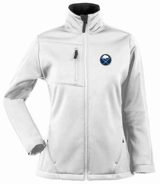Buffalo Sabres Womens Traverse Jacket (Color: White)