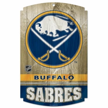 Buffalo Sabres Wood Sign