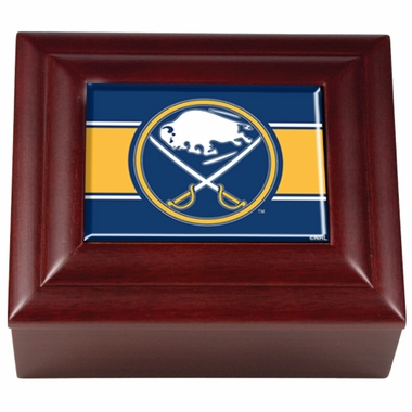 Buffalo Sabres Wooden Keepsake Box