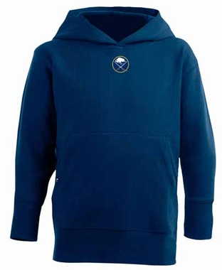 Buffalo Sabres YOUTH Boys Signature Hooded Sweatshirt (Color: Navy)