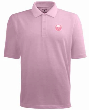 Buffalo Sabres YOUTH Unisex Pique Polo Shirt (Color: Pink)
