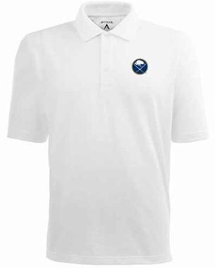 Buffalo Sabres YOUTH Unisex Pique Polo Shirt (Color: White)