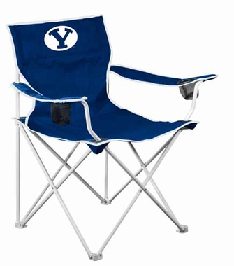 BYU Deluxe Adult Folding Logo Chair
