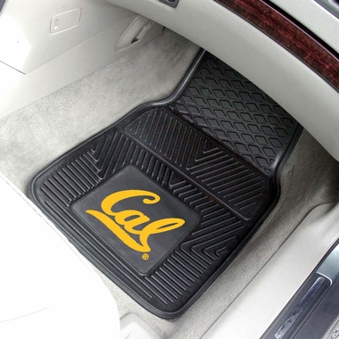 Cal  2 Piece Heavy Duty Vinyl Car Mats