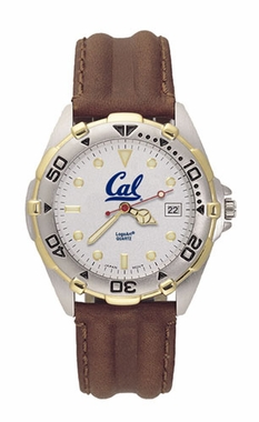 Cal All Star Mens (Leather Band) Watch