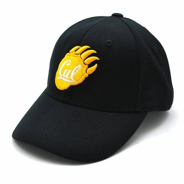 Cal Black Premium FlexFit Baseball Hat