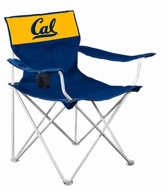 Cal Canvas Adult Folding Logo Chair