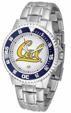 Cal Competitor Men's Steel Band Watch