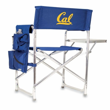 Cal Embroidered Sports Chair (Navy)