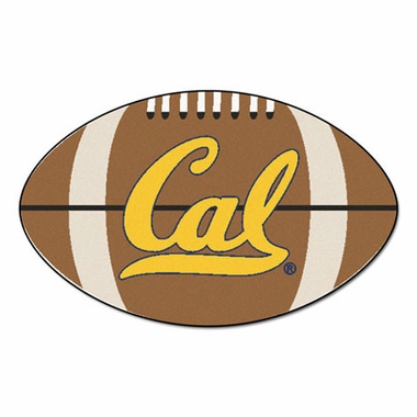 Cal Football Shaped Rug