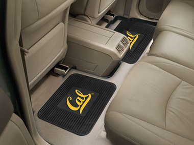 Cal SET OF 2 Heavy Duty Vinyl Rear Car Mats