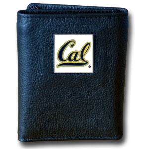 Cal Leather Trifold Wallet