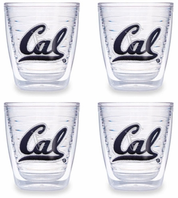 Cal Set of FOUR 12 oz. Tervis Tumblers