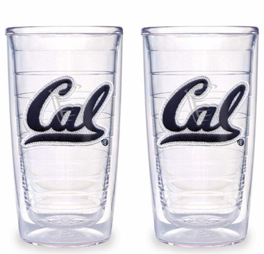Cal Set of TWO 16 oz. Tervis Tumblers