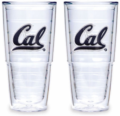 Cal Set of TWO 24 oz. Tervis Tumblers