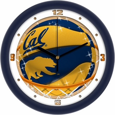 Cal Slam Dunk Wall Clock