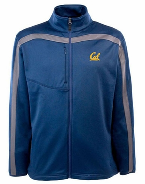 Cal Mens Viper Full Zip Performance Jacket (Team Color: Navy)