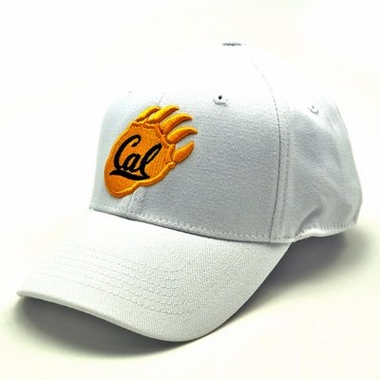 Cal White Premium FlexFit Hat
