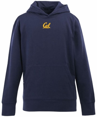 Cal YOUTH Boys Signature Hooded Sweatshirt (Team Color: Navy)