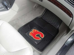 Calgary Flames 2 Piece Heavy Duty Vinyl Car Mats