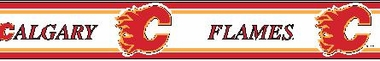 Calgary Flames 5.5 Inch (Height) Wallpaper Border