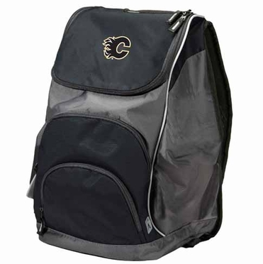Calgary Flames Action Backpack (Color: Black)