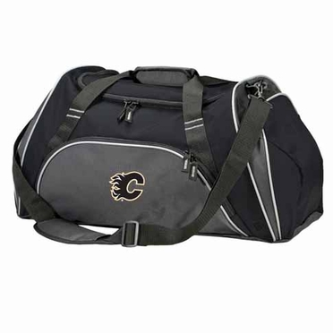 Calgary Flames Action Duffle (Color: Black)