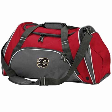 Calgary Flames Action Duffle (Color: Red)